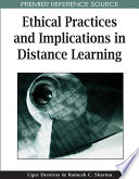 Ethical Practices And Implications In Distance Learning Book PDF