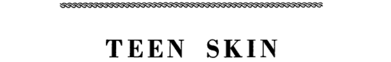 Teen Skin banner backdrop