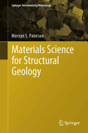 Materials Science for Structural Geology Pdf/ePub eBook