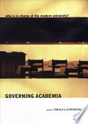 Governing Academia Book PDF