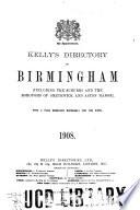 Kelly s Directory of Birmingham