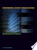 Environmental Design of Urban Buildings Book