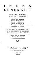 Index Generalis