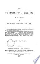 The Theological Review Ed By C Beard