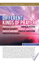Different Kinds of Prayer Study Guide