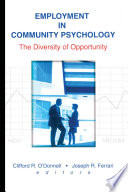 Employment In Community Psychology