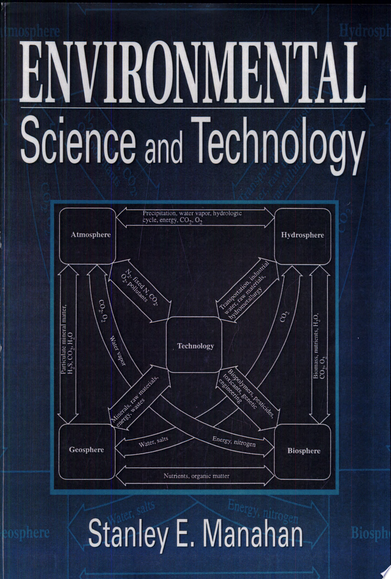 Environmental Science and Technology banner backdrop