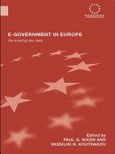 E government in Europe