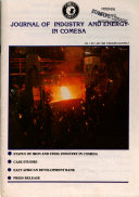 Journal of Industry and Energy in COMESA  Book