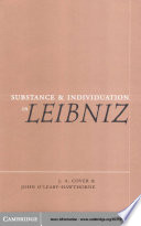 Read Online Substance and Individuation in Leibniz For Free