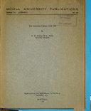Mcgill University Publications