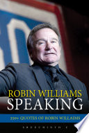 Robin Williams Speaking