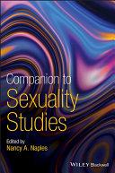 Companion to Sexuality Studies