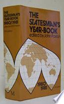 The Statesman S Year Book 1980 81