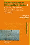 Complex Sentences  Grammaticalization  Typology