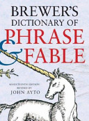 Brewer s Dictionary of Phrase and Fable