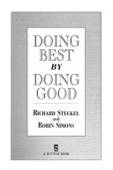 Doing Best by Doing Good
