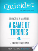 Quicklet on A Game of Thrones by George R  R  Martin
