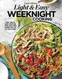 Taste of Home Light & Easy Weeknight Cooking Pdf/ePub eBook
