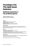 Proceedings of the     Annual Conference  Southeastern Association of Fish and Wildlife Agencies Book