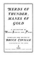 Herds of Thunder  Manes of Gold