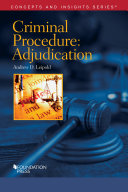 Criminal Procedure-Adjudication