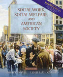 Social Work  Social Welfare  and American Society Book