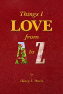 Things I LOVE from a to Z