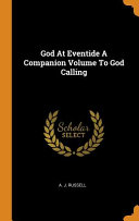 God at Eventide a Companion Volume to God Calling