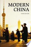 Modern China  a History