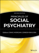 Pdf Principles of Social Psychiatry