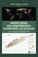 Remote Sensing Handbook   Three Volume Set