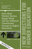 How Ideal Worker Norms Shape Work Life for Different Constituent Groups in Higher Education