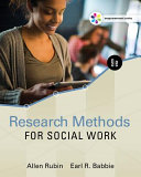 Empowerment Series  Research Methods for Social Work