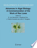 Advances In Algal Biology A Commemoration Of The Work Of Rex Lowe Book PDF