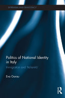 Politics of National Identity in Italy