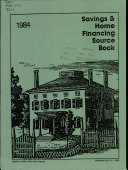 Savings & Home Financing Source Book