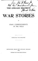 The Chicago Record s War Stories Book
