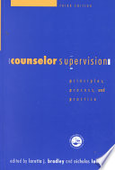 Counselor Supervision Book