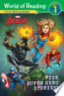 World of Reading  Five Super Hero Stories