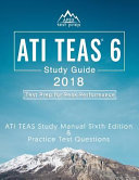 link to ATI TEAS 6 study guide 2018 : test prep for peak performance in the TCC library catalog