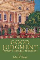 Pdf Good Judgment