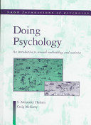 Cover of Doing Psychology
