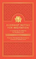 Buddhist Suttas for Recitation Book