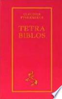 Tetrabiblos  : nach der von Philipp Melanchthon besorgten seltenen Ausgabe aus dem Jahre 1553