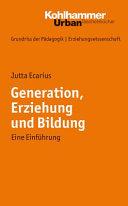 Generation, Erziehung und Bildung