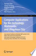 Computer Applications for Bio-technology, Multimedia and Ubiquitous City