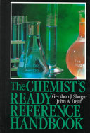 Pdf The Chemist's Ready Reference Handbook