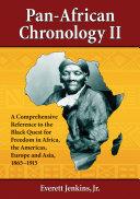 Pan-African Chronology II