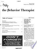 The Behavior Therapist
